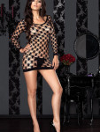 Minikleid aus Netz